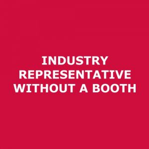 Registration – Industry representative without a Booth