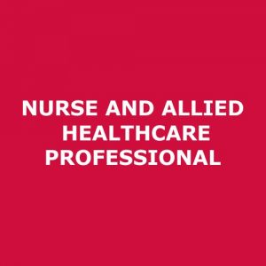 Registration – Nurses and Allied Professionals