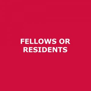 Registration – Fellows or Residents